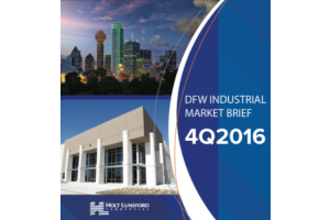 4Q 2016 DFW Industrial Market Brief