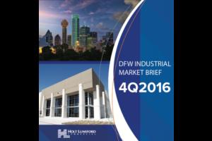 4Q 2016 DFW Industrial Market Brief