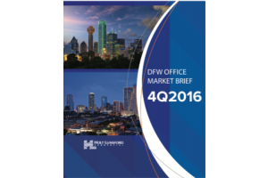 4Q 2016 DFW Office Market Brief