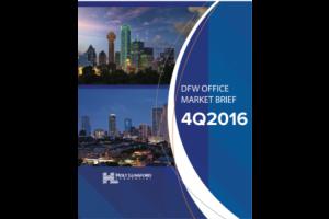 4Q 2016 DFW Office Market Brief