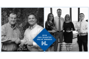 2018 2nd Quarter Value Awards