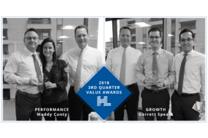 2018 3rd Quarter Value Awards