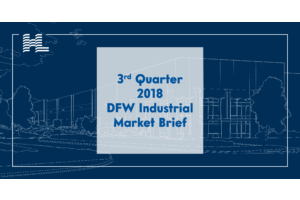 3rd Quarter 2018 DFW Industrial Market Brief