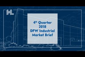 4th Quarter 2018 DFW Industrial Market Brief