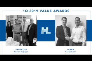 1Q 2019 Value Awards