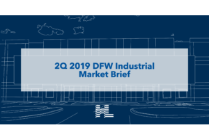 2Q 2019 DFW Industrial Market Brief
