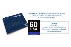 HLC Promotional Marketing Team wins design award!