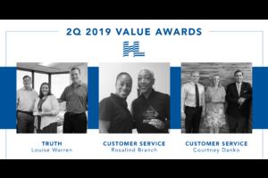 2Q 2019 Value Awards