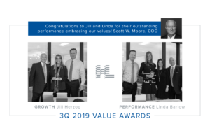 3Q 2019 Value Awards