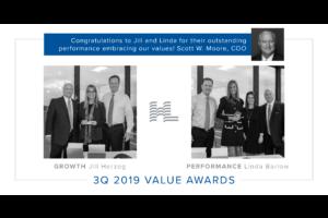 3Q 2019 Value Awards