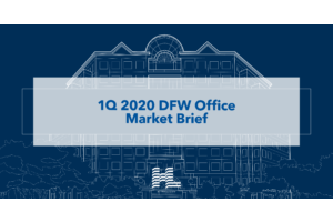 1Q 2020 DFW Office Market Brief