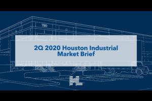 2Q 2020 Houston Industrial Market Brief