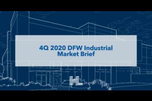 4Q 2020 DFW Industrial Market Brief
