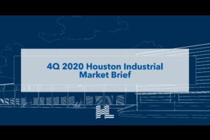 4Q 2020 Houston Industrial Market Brief