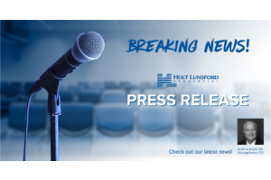 PRESS RELEASE: Holt Lunsford Commercial Announces New Hires and Promotions