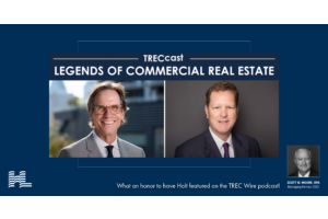 TREC Wire Legends of Commercial Real Estate: Holt Lunsford, Holt Lunsford Commercial